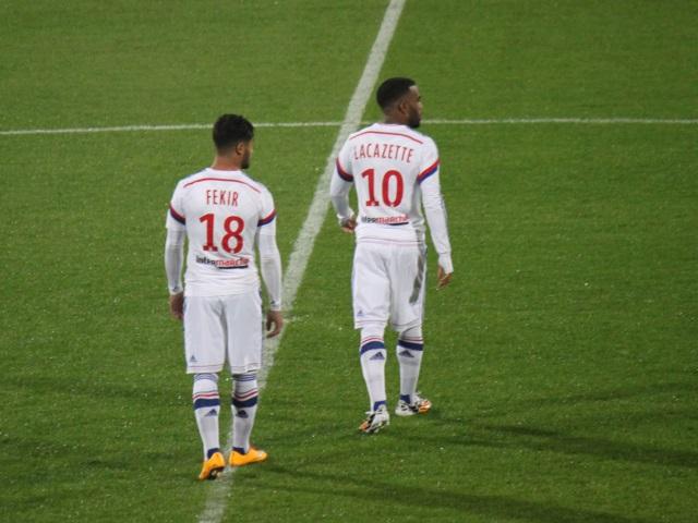 Alexandre Lacazette et Nabil Fekir (OL) retrouvent les Bleus