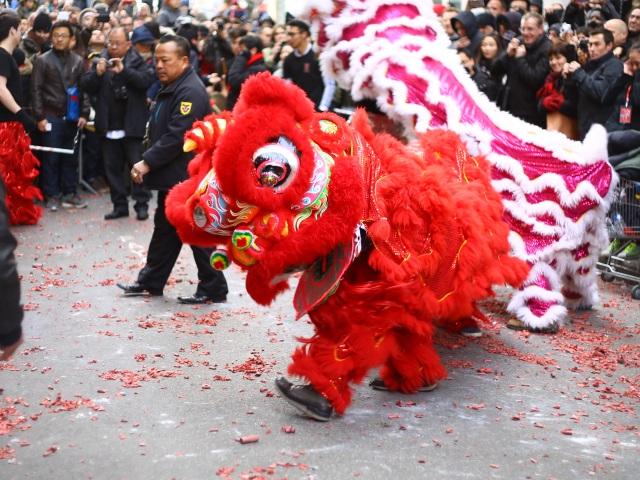 Lyon : un nouvel an chinois 2017 en deçà des attentes