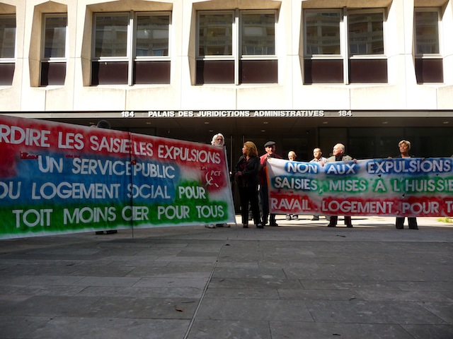 Expulsions locatives : les maires de Vénissieux, Pierre-Bénite et Vaulx-en-Velin seront fixés vendredi