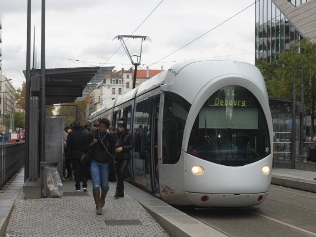 Perrache n'est plus desservie par les lignes de tramway T1 et T2