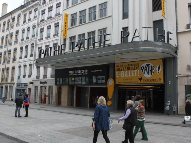 Lyon : coupure des films au Pathé Bellecour à cause de l'orage