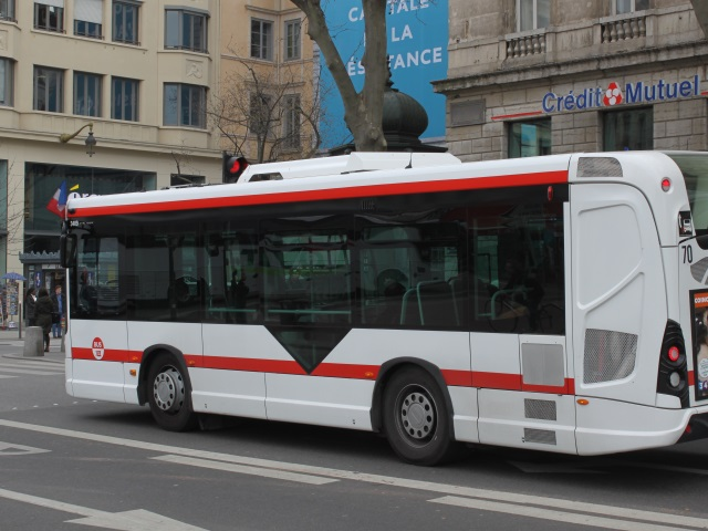 Un conducteur de bus blessé à Villeurbanne