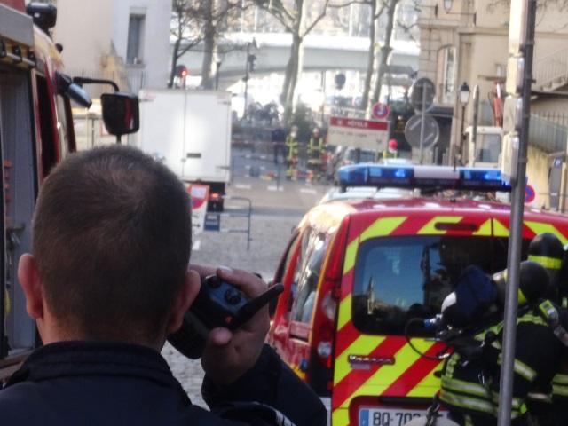 Une jeune femme sauvée de la noyade par deux pompiers à Lyon