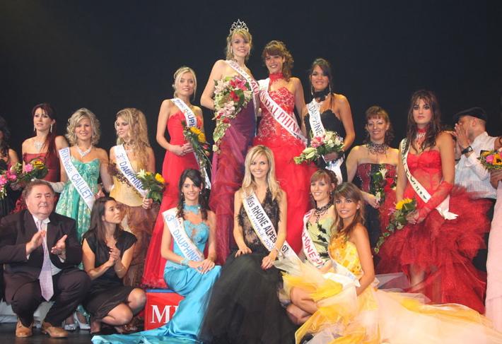 Election de Miss Rhône-Alpes