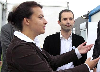 Cécile Duflot et Benoit Hamon - DR