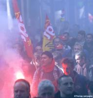 Manifestation : près de 15 000 grévistes à Lyon