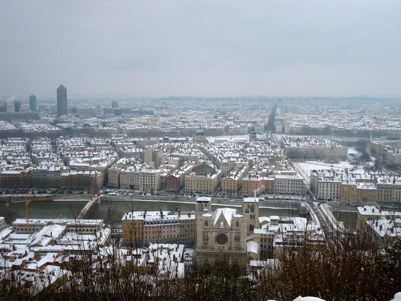 Météo : Lyon évite la neige et se débarrasse du vent