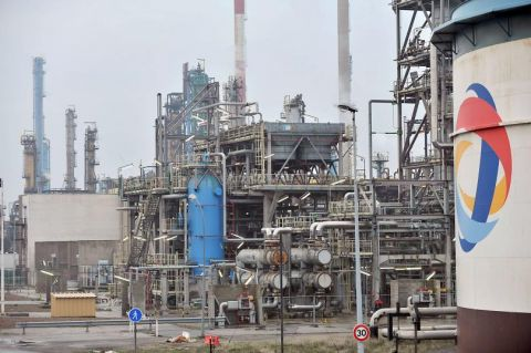Incendie samedi soir à l'usine Total de Feyzin