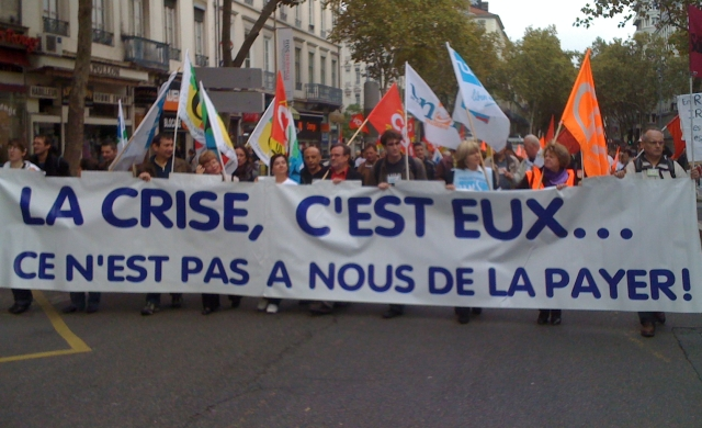 Rentrée sociale : entre 3 500 et 10 000 manifestants à Lyon