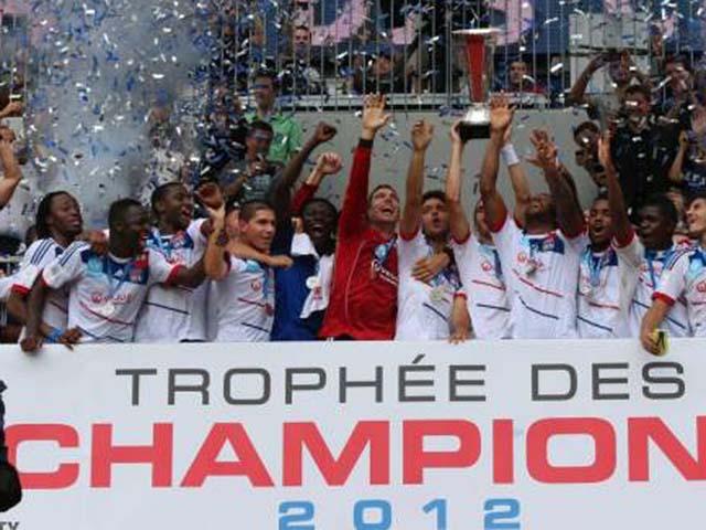 L'OL décroche un nouveau Trophée des Champions (vidéo)