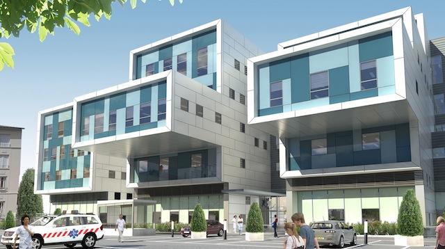 Le futur centre de soins ambulatoires de Léon Bérard prend forme