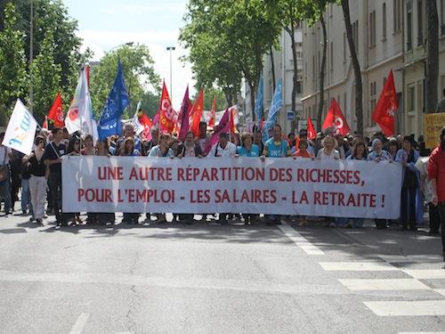 Lyon : un 1er mai pour dénoncer l'austérité
