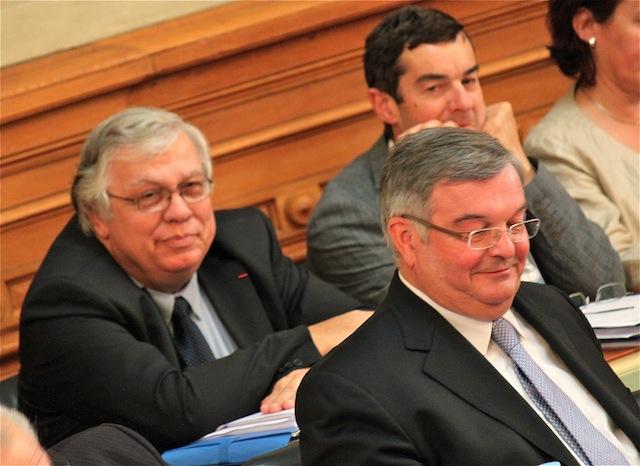 Pierre Goffinet remplace Pierre Jamet à la direction générale des services du Département