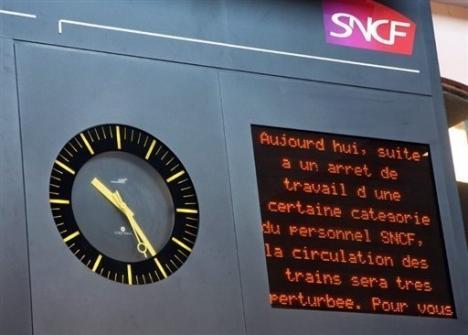 Des perturbations attendues à la SNCF lundi dans l'Ouest Lyonnais