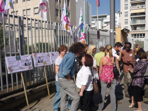 200 personnes dans les rues de Lyon mercredi soir