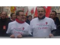 Appel à manifester pour deux syndicalistes CGT