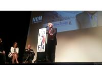 Européennes 2014 : moins d'une centaine de militants au meeting du FN à Lyon
