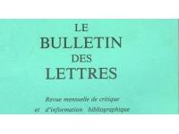 Lyon : Le Bulletin des lettres paraîtra une dernière fois en décembre