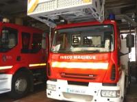 Cinq pompiers blessés dans la Loire