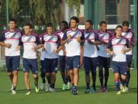 Cris, Lovren, Bastos n'ont pas participé à l'entrainement lundi en Corse