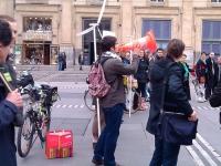 Des Lyonnais se mobilisent contre le nucléaire