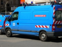 Fuite de gaz rue Paul Chenavard