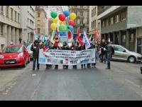 Grève des enseignants à Vaulx-en-Velin