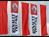 Grève des salariés de Renault Trucks