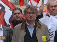Jean-Claude Mailly au meeting de FO à Lyon