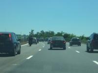 Accident sur l'A432 avant l'aéroport St-Exupéry