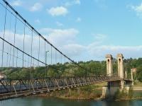 Le pont de Couzon fermé jusqu'en avril