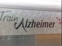 Le train Alzheimer en gare de Perrache
