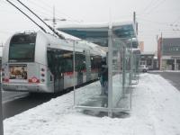 Neige à Lyon: un mardi de galère en vue