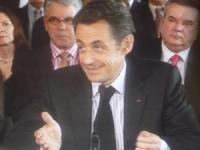 Nicolas Sarkozy a défendu dans la région les réformes dans le secteur de la santé de proximité