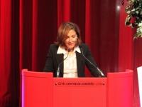 Nora Berra à Lyon en tant que Ministre