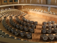 Première séance de la nouvelle Assemblée constituante de Tunisie
