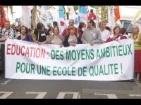 Secondaire: plus d'un prof sur deux en grève mardi