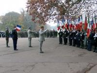 Une cérémonie pour les soldats morts en Algérie