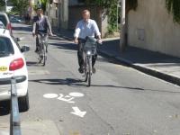 Une carte routière pour les cyclistes créée à Lyon