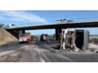 Lyon : deux accidents de camions ont bloqué la circulation sur l'A43 et l'A47 mercredi