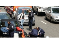 L'A7 paralysée lundi soir après une importante collision