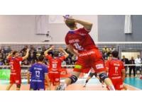 Défaite de l'ASUL Lyon Volley face à Saint-Nazaire (3-1)