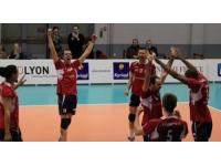 Défaite de l'ASUL Lyon Volley contre Orange (3-1)