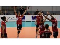 Défaite de l'ASUL Lyon Volley face à Nancy (3-2)