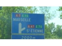 L'autoroute entre Lyon et Saint-Etienne coupée dans les deux sens