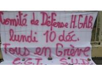 Nouvelle grève à l'hôpital Henry Gabrielle à Saint-Genis-Laval