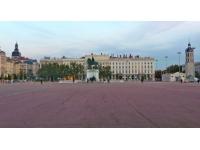 Lyon : les nouvelles installations de la place Bellecour inaugurées ce mercredi
