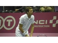 Julien Benneteau affronte Roger Federer vendredi à Rotterdam