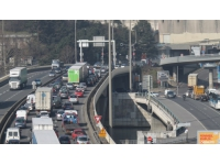 Tunnel sous Fourvière : un problème au niveau des joints de dilatation ce samedi