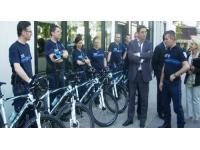 Villeurbanne met ses policiers sur des vélos